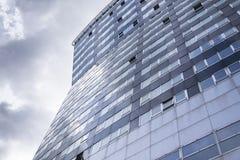 Modern office building glass facade exterior Stock Photography