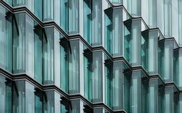 Modern office building glass facade.  royalty free stock photos