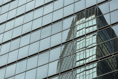 Modern office building glass facade Stock Photography