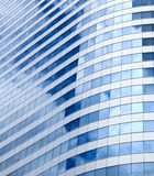 Modern office building with glass pattern Royalty Free Stock Image
