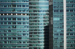 Modern office building glass window  facade detail Stock Image