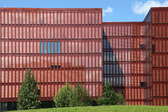 Modern office building in Hamburg Royalty Free Stock Photo