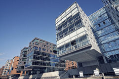 Modern office building in Hamburg, Germany Royalty Free Stock Image