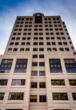Modern office building in Harrisburg, Pennsylvania. Royalty Free Stock Image