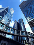 Modern office building in Hong Kong Royalty Free Stock Image