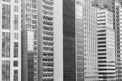 Modern office building in Hong Kong city Royalty Free Stock Photo