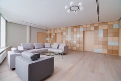 Modern office building interior Royalty Free Stock Image