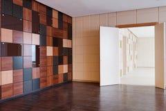 Modern office building interior Stock Photos