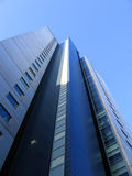 Modern Office Building in Liverpool. New Building in Liverpool England royalty free stock photos