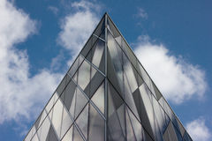 Tall Modern Office Building, Manchester UK. Prestige Location. Royalty Free Stock Images
