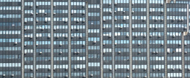 Modern office building with many air-conditioners Royalty Free Stock Images