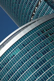 Modern office building in Moscow City Stock Images