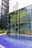 Modern office building in Munich in Germany stock photo