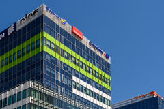 Modern Office Building In North District Of Bucharest City Stock Photo