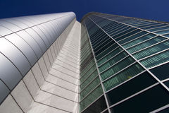 Modern office building in Poznan Stock Images