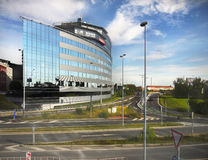 Modern Office Building, Prague Royalty Free Stock Photography