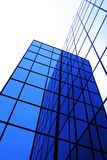 Modern Office Building with Reflecting Windows Royalty Free Stock Photography