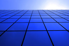 Modern Office Building with Reflecting Windows Royalty Free Stock Image