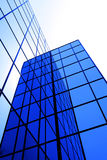 Modern Office Building with Reflecting Windows Stock Images