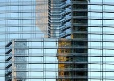 Modern office building reflections Stock Photo