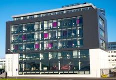 Modern office building in Reykjavik Royalty Free Stock Photos