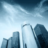 Modern office building in shanghai Royalty Free Stock Image