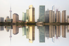 Modern office building in shanghai Stock Photography