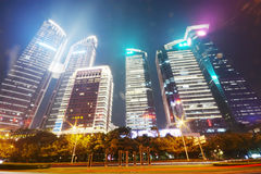Modern office building in shenzhen city Royalty Free Stock Photos