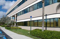 Modern Office Building side view royalty free stock image