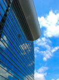 Modern office building and sky reflection Stock Image