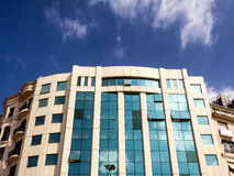 Modern office building on Taxim place in Istanbul Stock Images