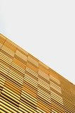Modern office building with timber facade Royalty Free Stock Image