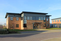 Modern Office Building To Let Stock Images
