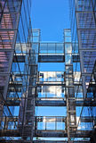 Modern office building in US capital. Stock Photos