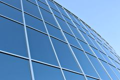 Modern Office Building windows Royalty Free Stock Image