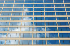 Modern office building, windows background Royalty Free Stock Images