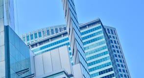 Modern office building windows Stock Photography