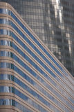 Modern office Buildings. Abstract of Modern glass fronted Office Buildings in France royalty free stock image