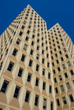 Modern office buildings. Low angle view Stock Photography