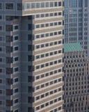 Modern office buildings. Tall modern office buildings in Boston Royalty Free Stock Photo