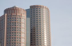 Modern Office Buildings. In Boston Royalty Free Stock Images