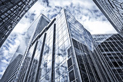 Modern Office Buildings. In Canar Wharf, London Stock Image