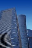 Modern office buildings. Against blue sky Stock Photo