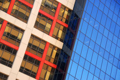 Modern office buildings. Urban architectural abstract Stock Photo