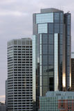 Modern office buildings. In a city skyline Royalty Free Stock Photography