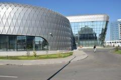 Modern office buildings in Astana Stock Photos