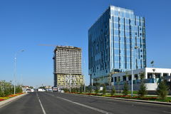 Modern office buildings in Astana Royalty Free Stock Photo