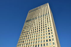 Modern office buildings in Astana Stock Images