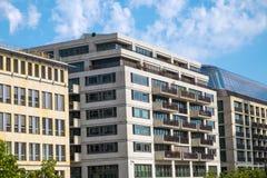 Modern office buildings in Berlin. Some modern office buildings seen in Berlin Stock Photo