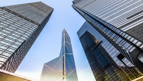 Modern office buildings Stock Photography